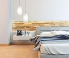 Pendente Clean Duplo 4021/2 Branco - Luminária elegante e sofisticada. Com excelente acabamento, é a escolha certa para qualquer ambiente. Aqui sugerimos um ponto de luz sobre o criado mudo ao lado da cama. Ilumine-se!