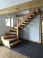 Ideas loft stairs diy attic spaces for 2019 Ideas loft stairs diy attic spaces for can find Loft spaces and more on our websit. Wood Stair Treads, Stair Banister, Loft Stairs, House Stairs, Stair Lift, Building Stairs, Stairs Architecture, Wooden Staircases, Basement House
