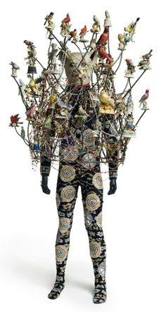 Wearable art and sculpture by Nick Cave