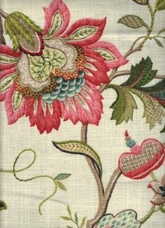Rovi Pink - www.BeautifulFabric.com - upholstery/drapery fabric - decorator/designer fabric