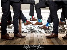 Socks Groomsmen at Tintswalo Atlantic