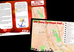 local churches together Christmas trail brochure