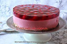 .COCINA CHILENA: TORTA DE YOGURT Chilean Desserts, Chilean Recipes, Chilean Food, Apple Dessert Recipes, Cheesecake Recipes, Torta Pompadour, Happy Foods, Sweet Cakes, Love Food