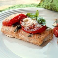 Tomato Basil Salmon - Allrecipes.com