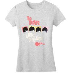 Beatles Abbey Road Open Back Girls Juniors Heather Grey Long Sleeved Shirt