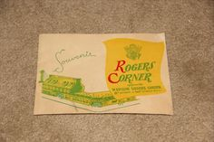 Souvenir Photo from Roger's Corner NYC August 1945