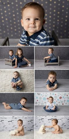 Owen's 7 month in studio baby photo shoot with Sunny S-H Photography Winnipeg