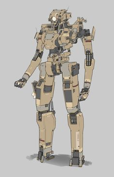 ArtStation - Mecha, Heng Z