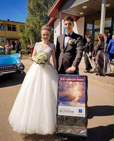 Newlyweds in the Ukraine❤️ The secret to a Happy, Long-lasting marriage is..... A threefold cord cannot quickly be torn apart. Ecclesiastes 4:12