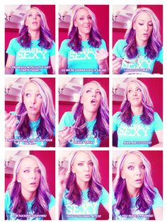 Jenna Marbles knows what's up!  Check out the whole video, so funny.