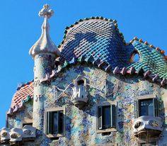 Spain Art Architecture Casa Batllo