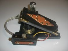 coolest steampunk wah pedal