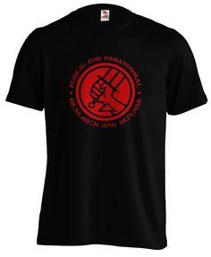 >> Click to Buy << Cool ShirtsCrew Neck Short-Sleeve Printed Hellboy Bureau Comic Geek T-shirt Tee Short Gift O-Neck Shirts #Affiliate