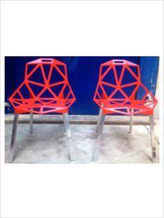 chaise chair one magis rouge zeeloft