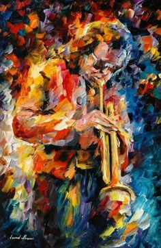 Leonid Afremov - Miles Davis