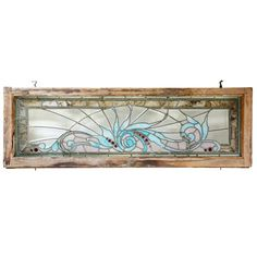 American Victorian Stained and Leaded Glass Transom Window Stained Glass Light, Stained Glass Designs, Stained Glass Panels, Stained Glass Projects, Stained Glass Patterns, Leaded Glass Windows, Transom Windows, Art Of Glass, Glass Wall Art