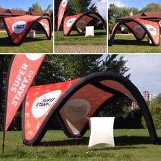 Signus inflatable 5m tent