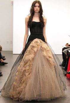 Vera Wang Witchcraft. I love this! I would seriously get married in this