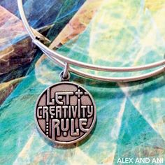 ALEX AND ANI Let Creativity Rule CHARITY BY DESIGN Charm Bangle!