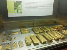 As barras de ouro - Museu de Valores BCB