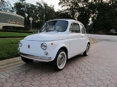 1970 Fiat 500-L. My future daily driver.