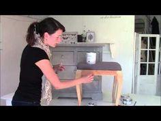 Hvordan anvendes kalkmaling fra Jeanne D'arc. - YouTube