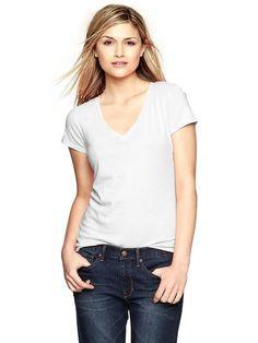 Gap Essential V Neck T Shirt