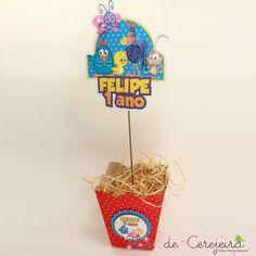 Galinha Pintadinha - Centro de Mesa   Flor de Cerejeira - Festas Personalizadas   Elo7