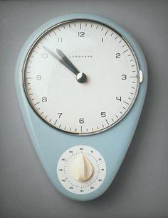 Max Bill kitchen clock from 1960's