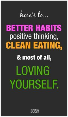 Clean Eating Quote  www.KristaAbel.com                              …