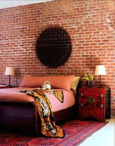 Asian inspired bohemian room  43 Bohemian-chic interiors to rock your senses