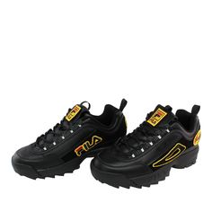 afa179856e4 Fila Disruptor II Patches μαύρο, ανήκει στη heritage συλλογή της Fila.  #sneakerstown #