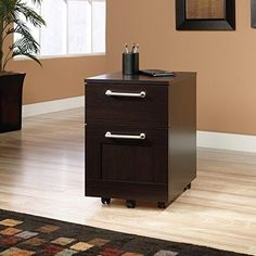 Sauder Office Furniture Cornerstone Collection Classic Cherry Executive  Desk With Laptop Drawer Simple, Contemporary Design. A Straightforward Styu2026