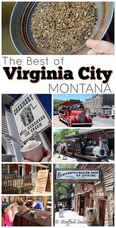 Step back into the Old West in southwest Montana! Lots of historical attractions and fun activities, like panning for gold, make up this list of the Best of Virginia City. #TravelDestinationsUsaMontana