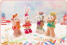 ハピエストセレブレーションのグッズ | Happy Marching Fun | いっしょだと、いいことありそう。Duffy and Friends| 東京ディズニーリゾート