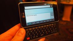 Hands on : LG Mach review | Exclusively for Sprint, the LG Mach is 4G capable and packs a full QWERTY keyboard. Reviews | TechRadar