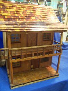 old farmhouse style dollhouse