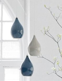 Lamp Shades, Ceiling Lights, Ceramics, Lighting, Pendant, Home Decor, Ideas, Yurts, Ceramic Lamps