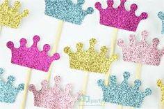Resultado de imagen para moldes coronas de princesas