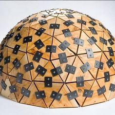 Regram from @annieroseveare who is studying for a BA Hons in Contemporary Design Craft and will be exhibiting this particular geodesic dome made of yew on the Hereford College of Arts stand JC1 in Part 1 (29 June - 02 July). Check out #comingtoND to see what this year's graduates have in store at @newdesigners #ND16