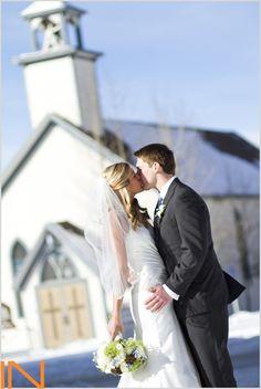 a Colorado winter wedding