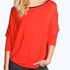 "☀️Open Back Burnt Orange Top☀️ ☀️Open Back Burnt Orange Top☀️ Polyester-95% Elastane-5% Length-28"" Sleeve Length-25.5"" Tops"