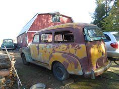 1948 Chevrolet Suburban body