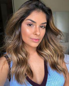 Cabelo Ombre Hair, Hispanic Girls, Ombré Hair, How To Make Hair, Brown Hair, Hair Inspiration, Curly Hair Styles, Hair Care, Hair Color