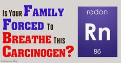 Radon is a major cause of lung cancer, second only to cigarette smoking, and may be lurking in your home, school, or office. http://articles.mercola.com/sites/articles/archive/2016/02/17/radon-exposure-lung-cancer.aspx