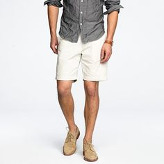 notice the shoes with the shorts...don't be afraid to wear something other than boat shoes with shorts.