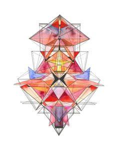 geometric illustration + art