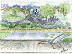 Garten- und Landschaftsplanung Parks, Painting, Private Garden, Landscape Architecture, Painting Art, Paintings, Draw, Park, Parkas