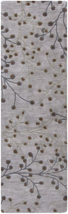 Surya Athena ATH5055 Grey/Brown Transitional Area Rug