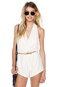 Everything in Its Lace Romper
